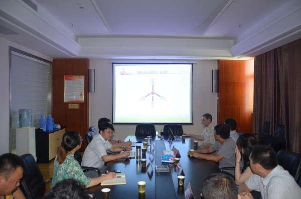 公司與三峽大學舉行土壤修復技術交流座談