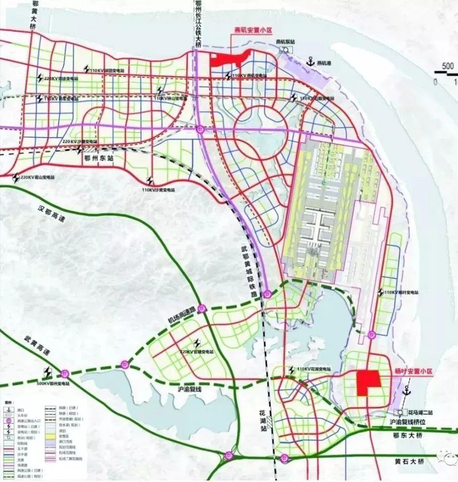 燕矶机场最新消息_湖北这座投资规模最大、连接2地市的长江大桥有新进展!